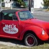 Bellissima automobile hot dog