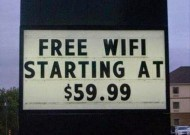 Fail: WiFi gratis a 59.90 dollari